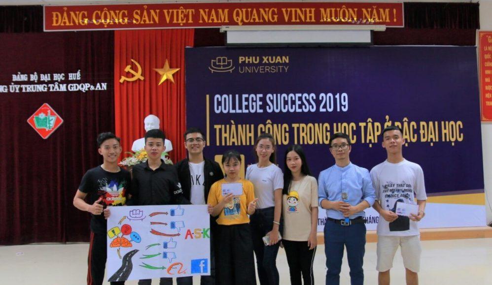 Hoạt động Sinh viên Đại học Phú Xuân