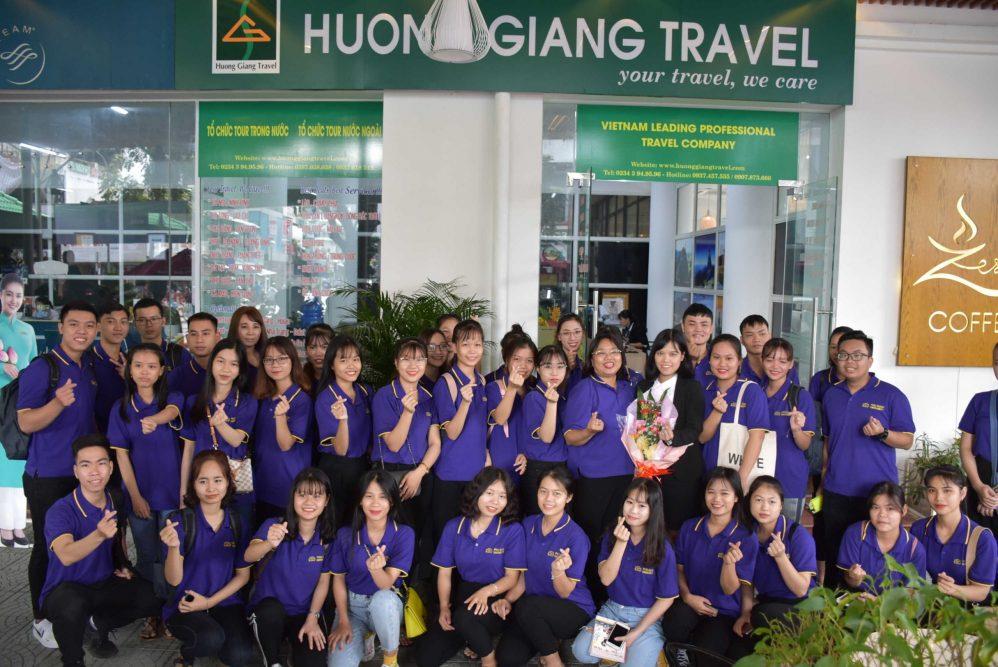 Sinh viên Đại học Phú Xuân đi thực tế tại Doanh nghiệp